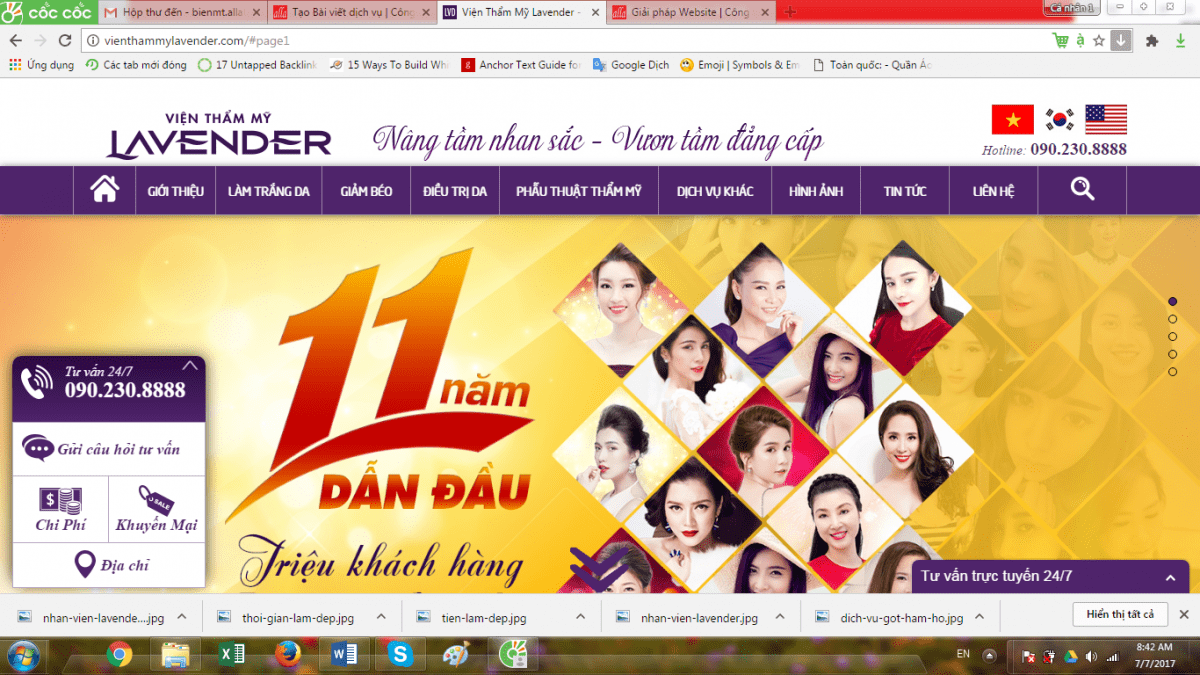 lay-out-thiet-ke-web-spa-tham-my-vien