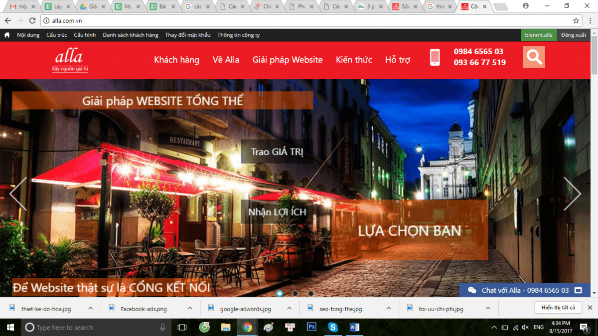 layout-website-cong-ty