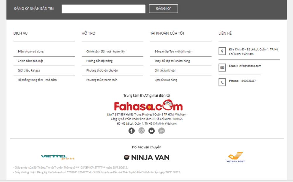 thiết kế website bán hàng văn phòng phẩm
