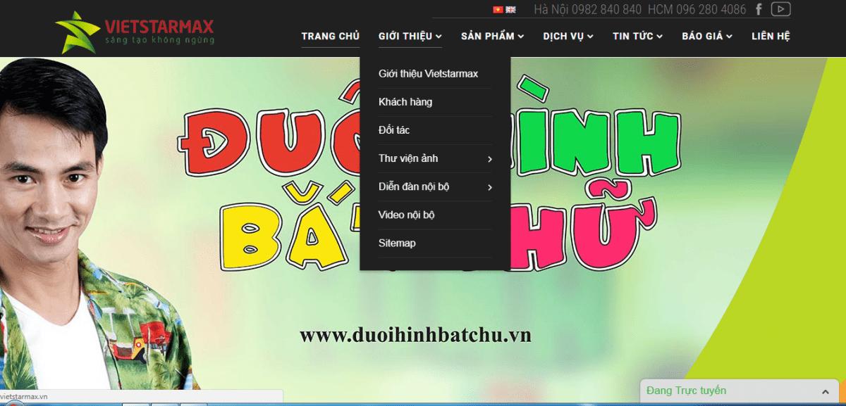 thiết kế website truyền thông quảng cáo